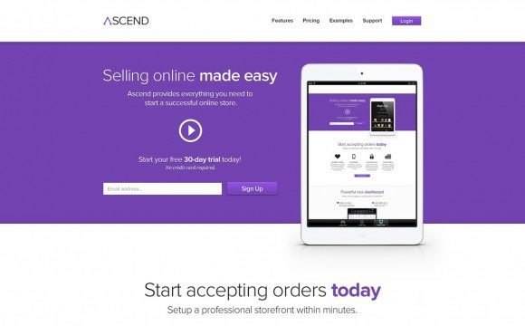 Creative Ascend ‰ÛÒ PSD ecommerce template