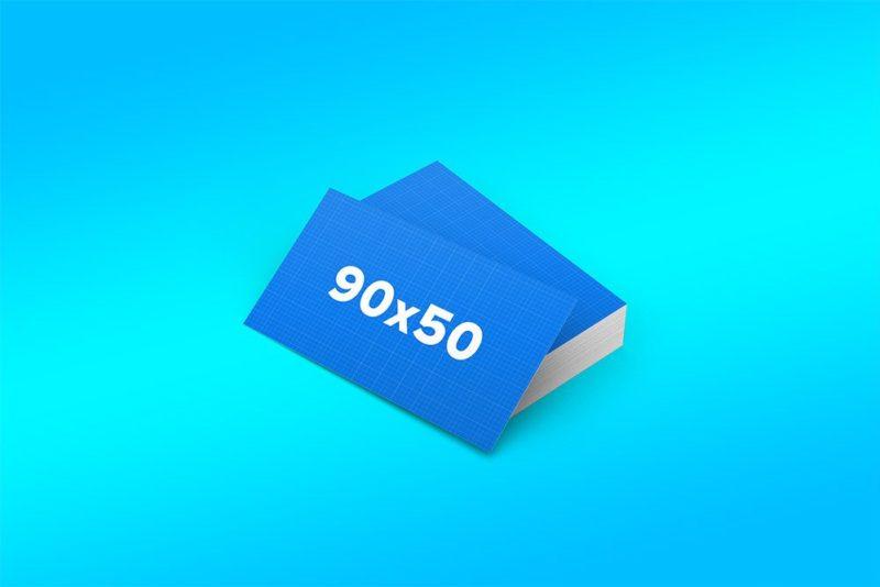 Creative Business Cards Free PSD Mockup