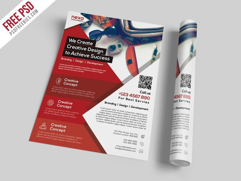 Creative Business And Corporate Flyer Template Free Psd