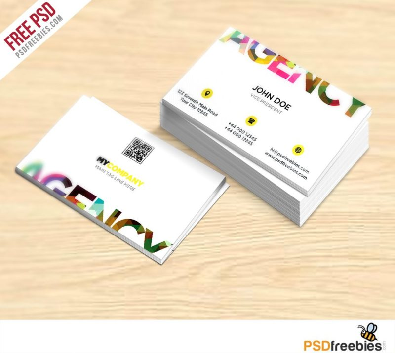 Creative Creative Business Card Free PSD Template