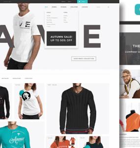 Creative Avenue Fashion: Free PSD ecommerce template