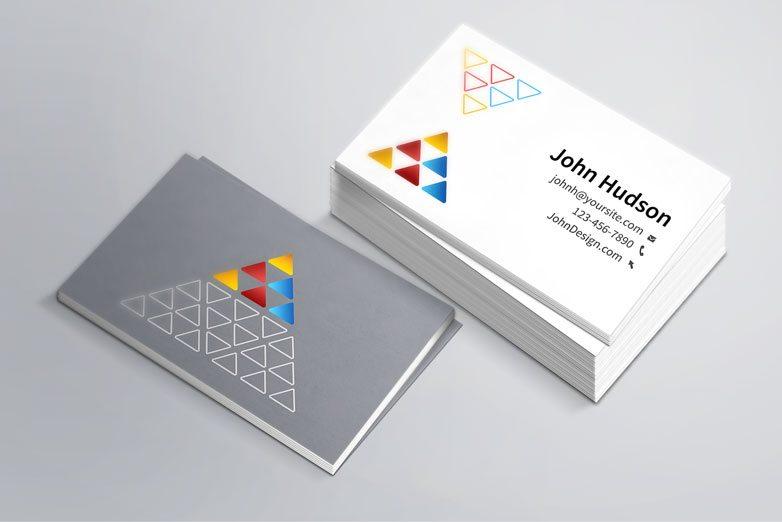 Creative business card template mockup psd friedricerecipe Gallery