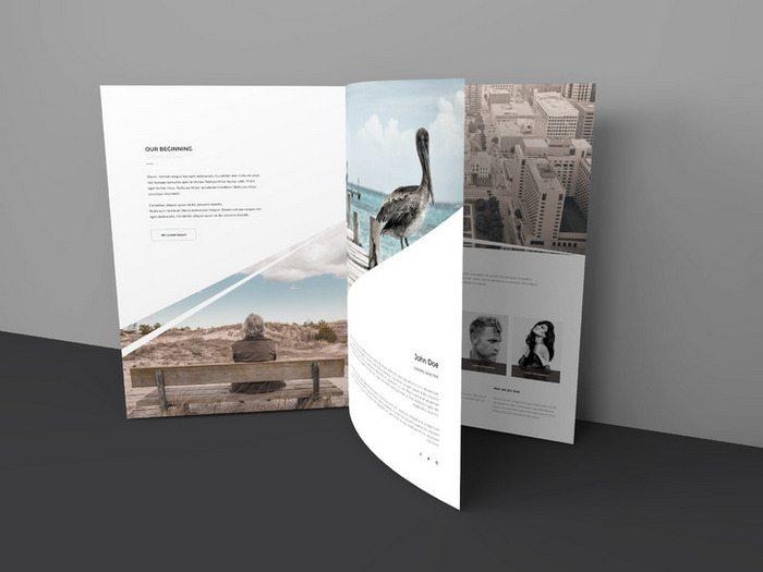 20 Free Catalog Brochure Mockup Templates Psd