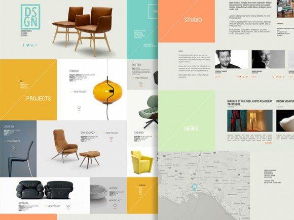 Creative DSGN ‰ÛÒ Free PSD Template