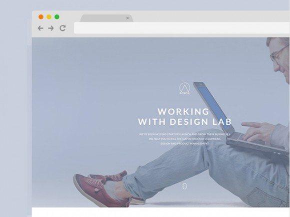 Creative Elipsis ‰ÛÒ PSD Portfolio template