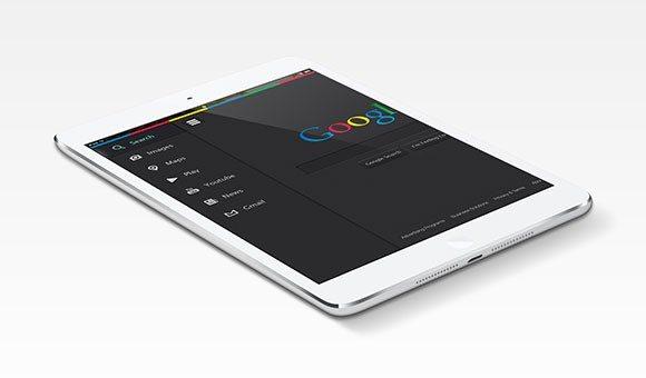 Creative Google.com redesigned ‰ÛÒ Free PSD