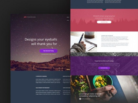 Creative Pex ‰ÛÒ Free website template