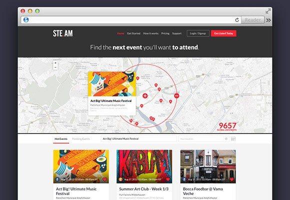 Creative Steam ‰ÛÒ Free website template