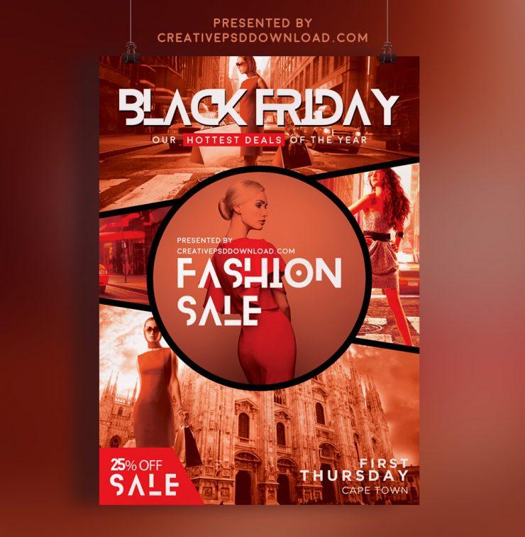 Creative fashion sale flyer thumbnail