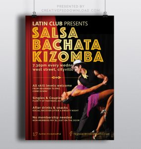 Creative Latin Salsa Flyers Thumbnail