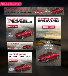 Car Promotion Banner Campaign