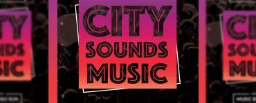 City Sounds Music Premium Flyer Template Thumbnail