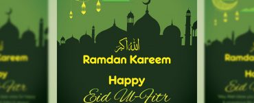EID Mubarak Premium Flyer Template Thumbnail