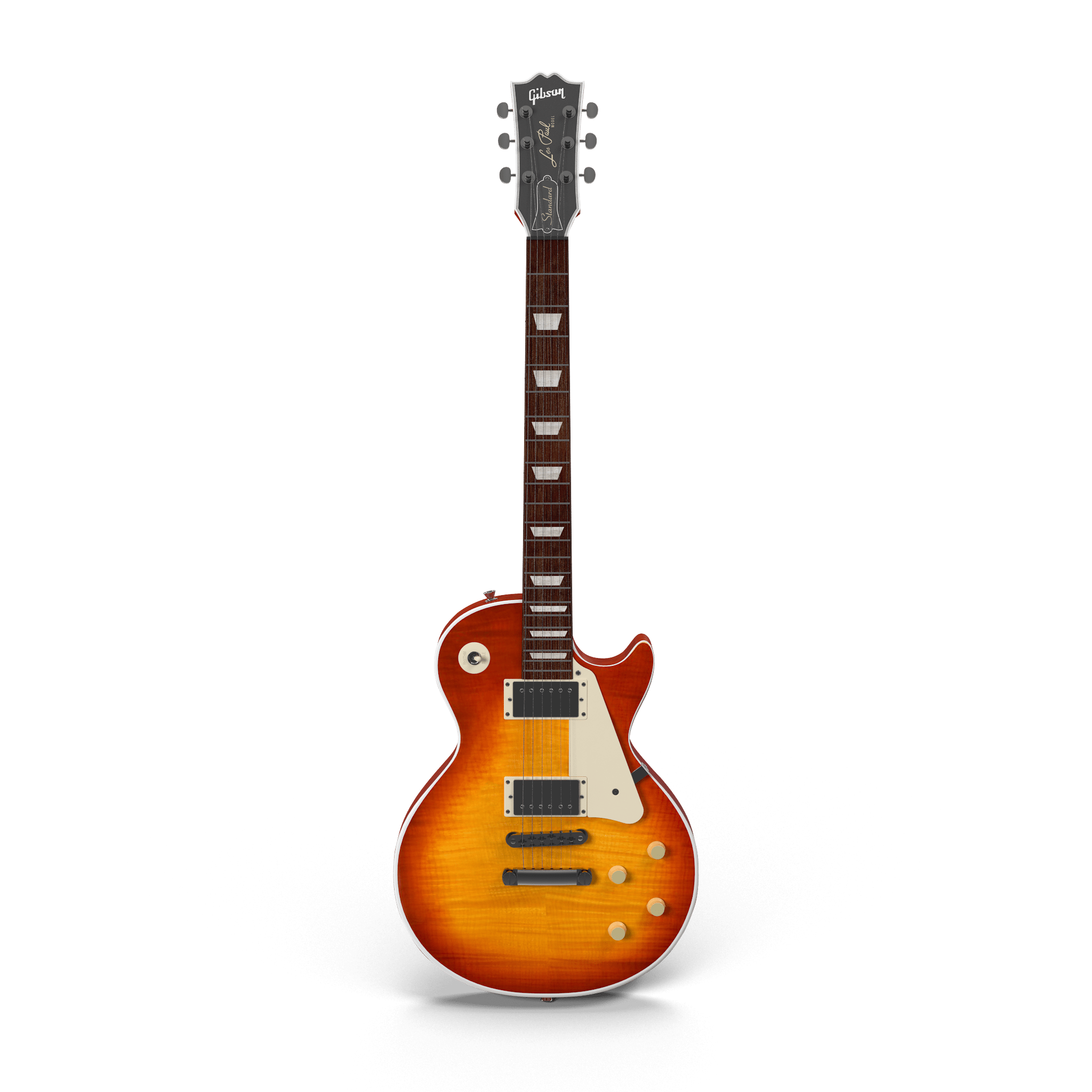 Old-School Beautiful Guitar Mockup