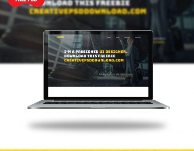 Portfolio Website Template UI Free PSD Thumbnail, creative psd,creative psd download,download free psd,free psd,free psd download,free website template psd download,freebies psd,portfolio website psd,portfolio website template ui free psd,psd download,psd freebies,ui psd,website ui psd