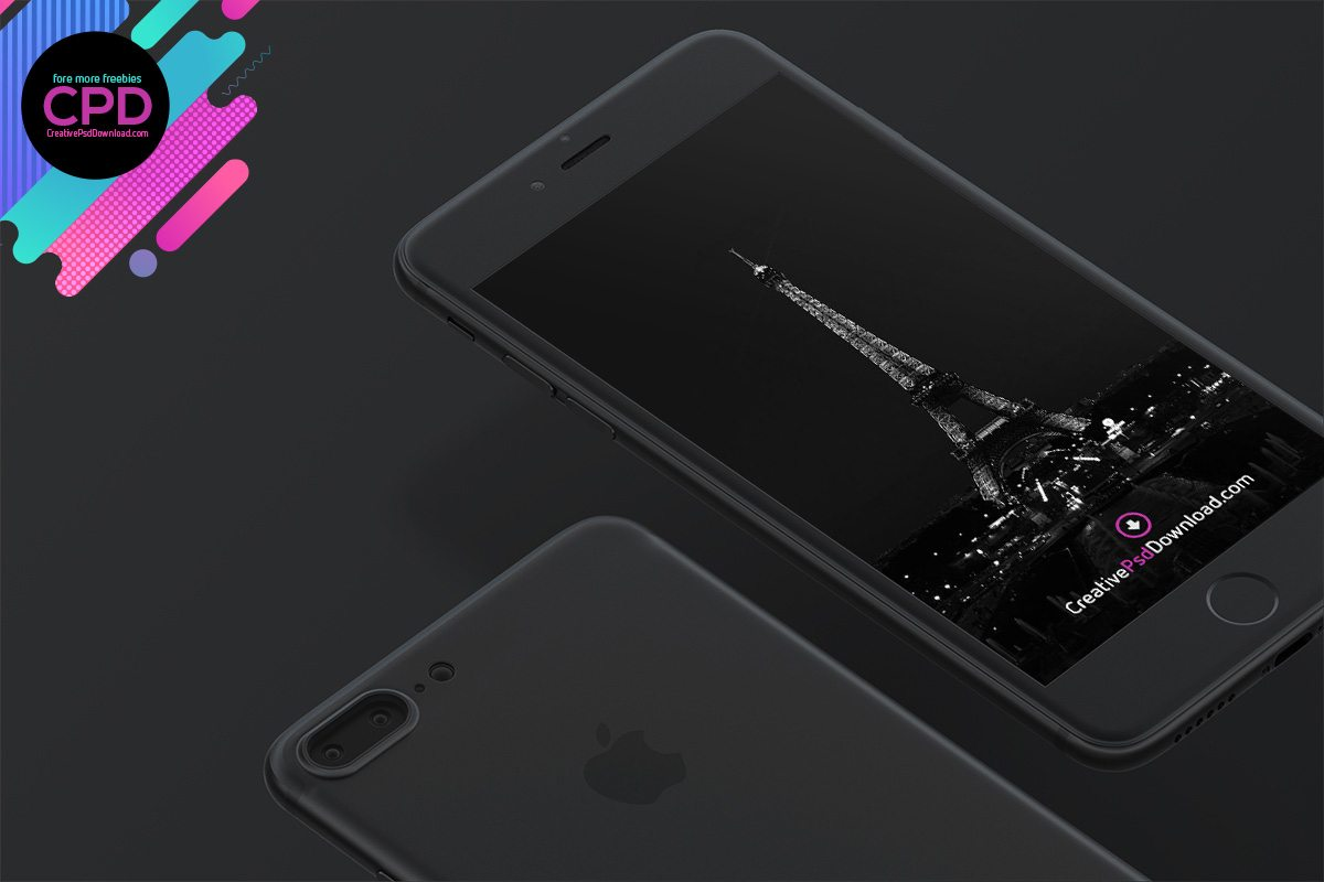 Premium iPhone 7 Psd Mockup