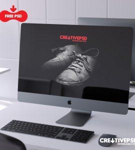 iMac Pro PSD Mockup Free Download Thumbnail