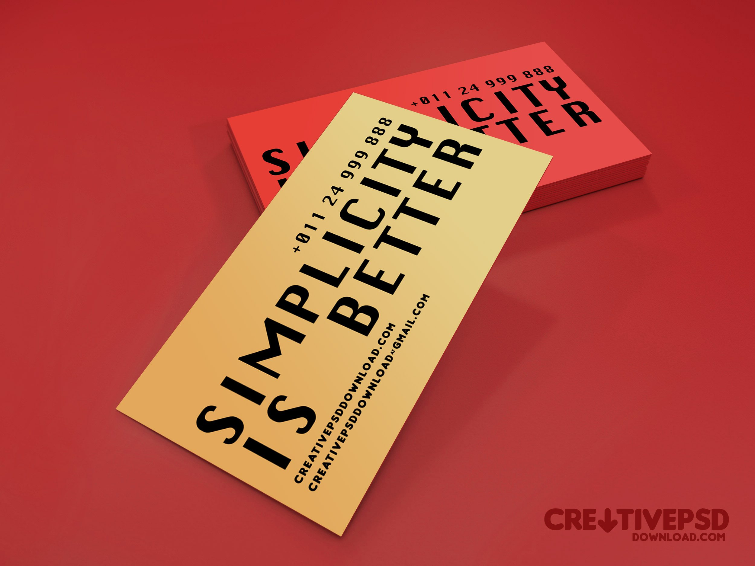 Free Business Card PSD Templates - Beautiful business card templates