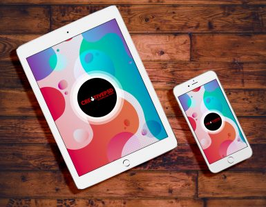 Free iPad and iPhone PSD Mockup