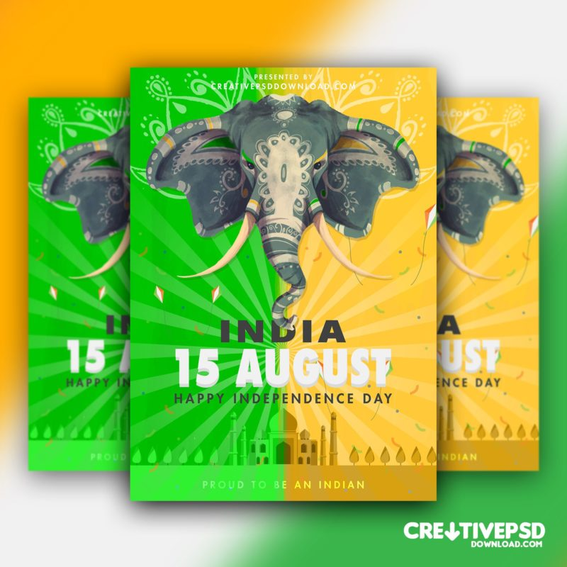 Independence Day Free Flyer PSD