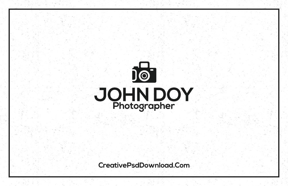 Premium Photographer Business Card Template Back