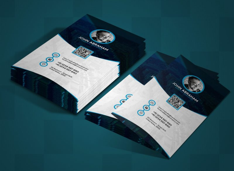 Visiting Card Design Psd Free Business Templates Photographer