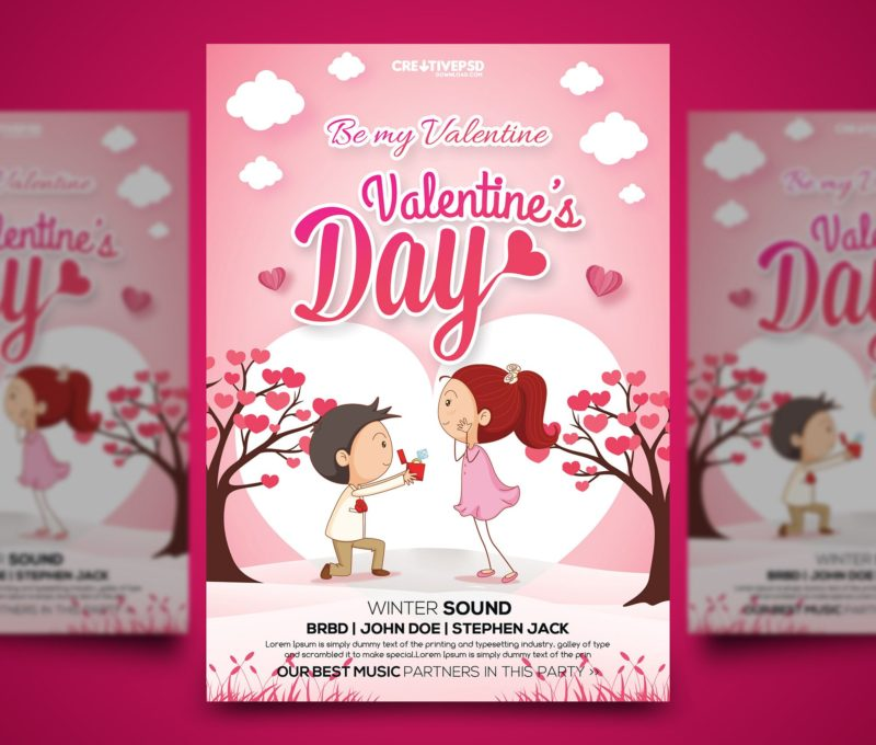 valentine flyer template free, valentine psd template, free ladies night flyer template psd, party flyer psd, free bowling flyer psd, free psd flyer templates 2015, psd advertising templates free download, premium flyer templates,