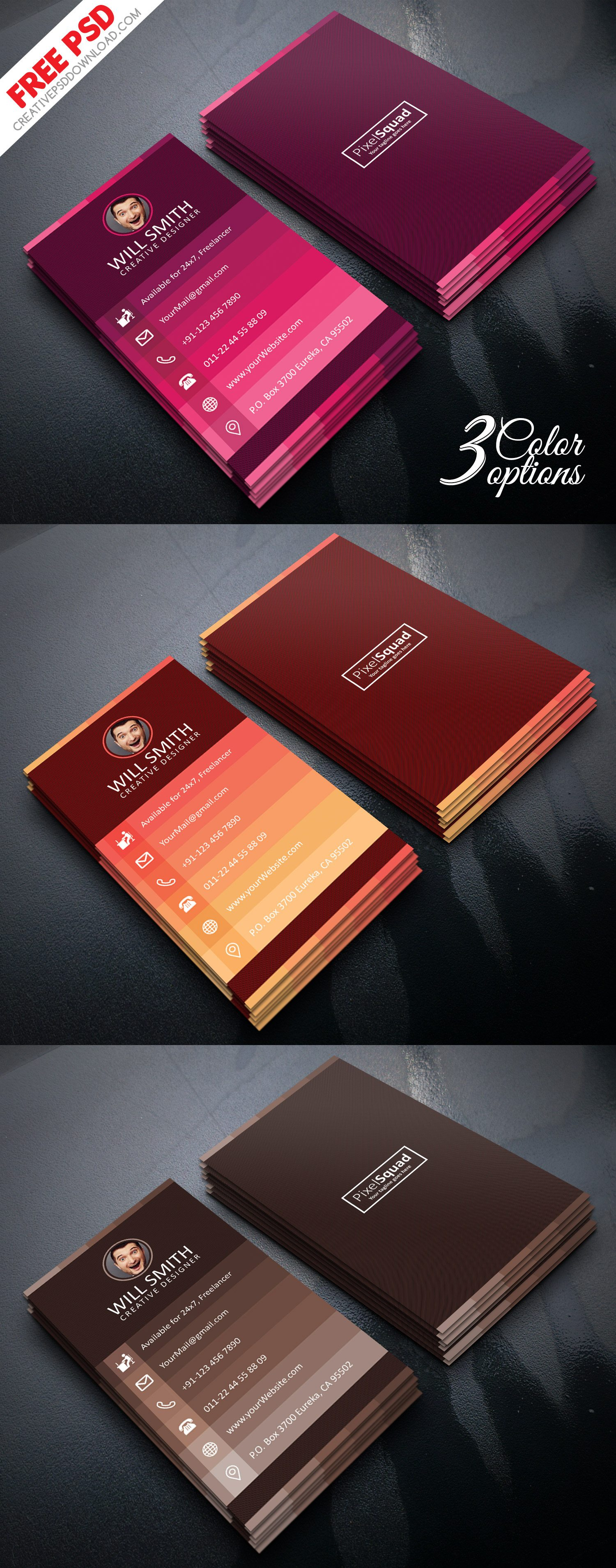 Creative Designer Business Card PSD Freebie