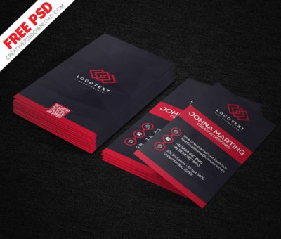 Creative Designer Vertical Business Card PSD