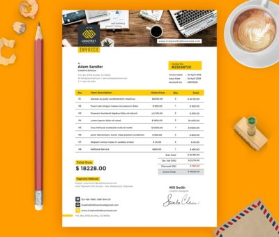 cmyk design,creative psd,download psd,free psd,invoice psd template free download,invoice template,print design,psd mockup