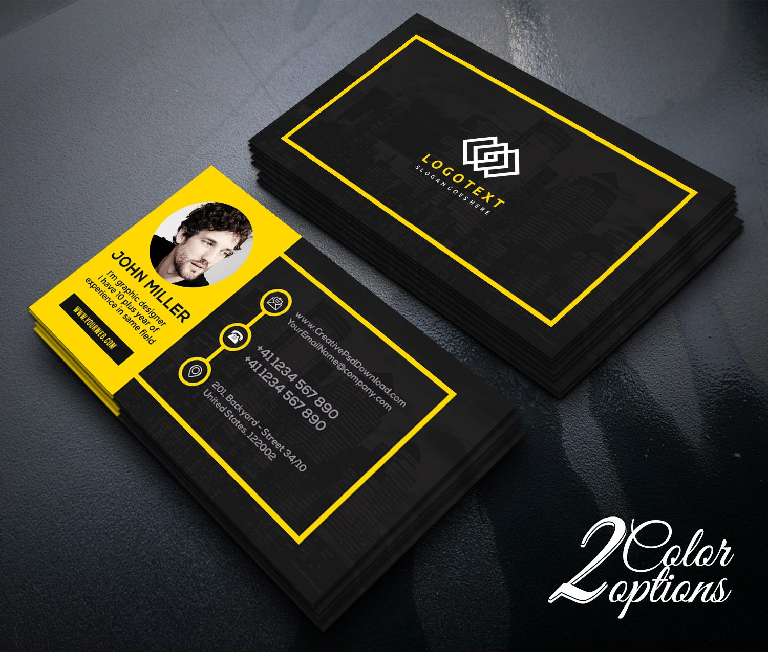 Graphic Design For Visiting Card
