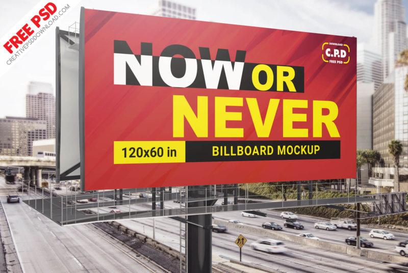 Billboard Mockup Psd, holding mockup, holding banner psd, big banner, billboard banner mockup